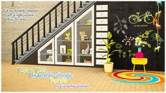 TS2 to TS3 Understair storage part 1/3 - Sims 3 Downloads CC Caboodle