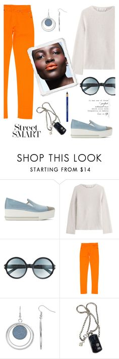 """Smart Girl."" by schenonek ❤ liked on Polyvore featuring Miu Miu, Helmut Lang, Tom Ford, Maison Margiela, Salomon, David Yurman and L'Oréal Paris"