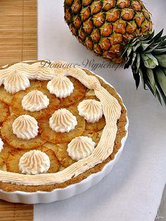 Tarta ananasowo- kokosowa