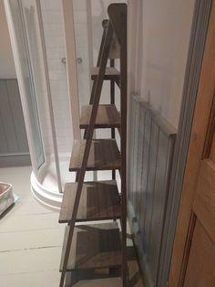 Maison du monde wooden ladder shelf NEW | in Shirley, West Midlands | Gumtree