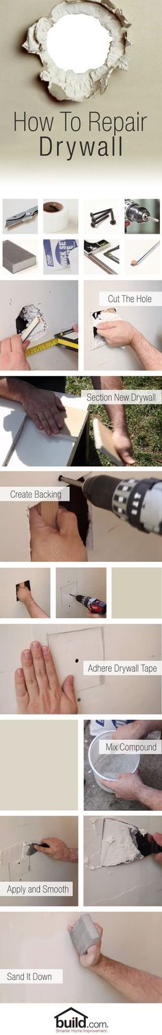 I like this ** How you can Restore a Drywall Gap