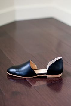 // Smoking Loafer - Black Leather | Emerson Fry