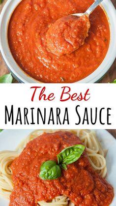 Sauce Recipes, Pasta Recipes, Cooking Recipes, Healthy Recipes, Pasta Sauces, Pasta Dishes, Best Italian Recipes, Great Recipes, Favorite Recipes