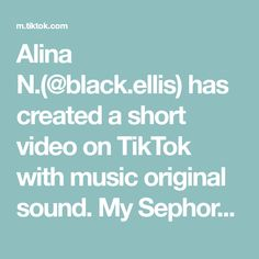 Alina N.(@black.ellis) has created a short video on TikTok with music original sound. My Sephora collection skincare products finally arrived! #sephoracollection #sephoraromania #skincare #sephorahaul #sephora #skincarereview Becky G Shower, Trauma, Harry Styles, Galway Girl, Modern Disney, Music Love, You Are Beautiful, The Creator, Create Yourself