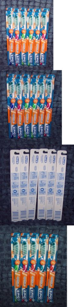 Standard Toothbrushes: 6 Oral-B Advantage Complete Deep Clean Full Large Soft Head Toothbrushes (60) -> BUY IT NOW ONLY: $199.99 on eBay!