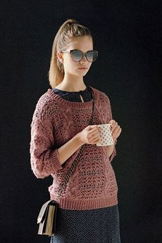 Wear Now: Fall Sweaters Over Flirty Dresses