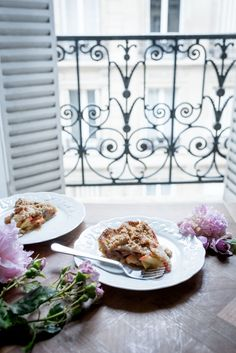 Hazelnut Streusel and Brown Butter Apple Pie