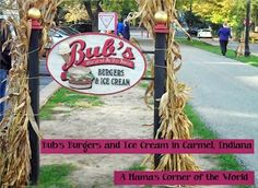#restaurant review of Bub's Burgers and Ice Cream in Carmel, IN from A Mama's Corner of the World