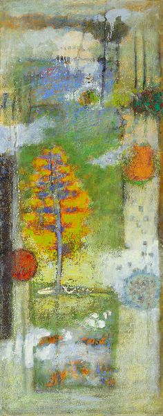 Cycles Within Cycles | oil on canvas | 48 x 19"
