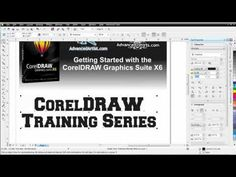 CorelDRAW X6 for working with text - YouTube