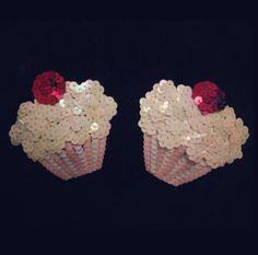 Cupcake nipple pasties