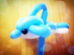 Balloon dolphin