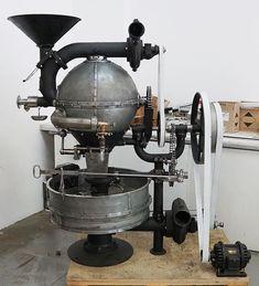Instagram photo by roastersale - All cast iron Kirsch & Mausser ball roaster