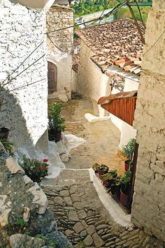 The cobbled streets of Berat, Albania. / Courtesy Jacek Malipan. Modern Farmer article on Albania. I've visited many of these locations, really are good local haunts and a nice example of local delicacies