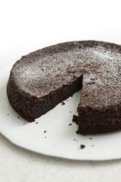 Nigella Chocolate Olive Oil Cake. Replace sugar with zylitol and it's low carb. Add nuts and make brownies!