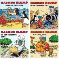 Pixi bøger. Rasmus Klump