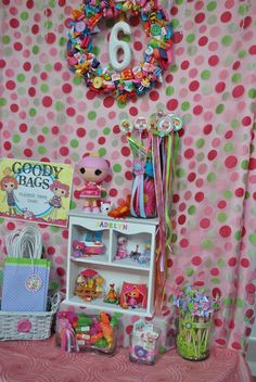 Lalaloopsy favor table