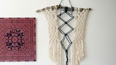 Make a Macrame Wall Hanging. Modern macrame artist, Emily Katz, teaches how to make her signature bohemian wall hanging. This artwork is built upon a piece of found driftwood, and uses thick cotton rope and one simple knot to create an overall pattern. Throughout the class, Emily shares ideas for adjusting the repeated pattern and the size of the piece to create a custom wall hanging, perfect for you and your space.