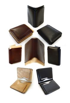 Bifold Leather Wallets by AtelierPall.com