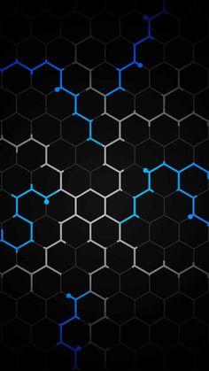 Hexagon Design IPhone Wallpaper - IPhone Wallpapers