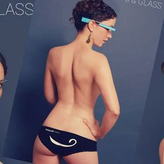 Google Glass just got its first ever porn app on Monday called Tits and Glass. LOL!