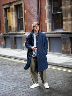 Casual Street Style, Look Fashion, Mens Fashion, Sartorialist, Mens Style Guide, Japanese Street Fashion, Men Street, Gentleman Style, Moda Masculina