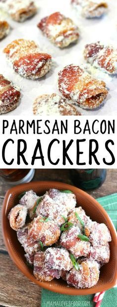 they disappeared soooo fast!!! BACON WRAPPED PARMESAN CRACKERS #appetizer #bacon #superbowl #partyfood