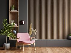 Acupanel® Contemporary Walnut Acoustic Wood Wall Panel   Wall Paneling Wood Panel Walls, Wooden Walls, Wood Paneling, Wall Panelling, Tile Design, Wood Design, Slat Wall, Acoustic Panels, Decorative Panels