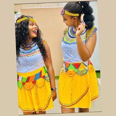 African Traditional Wear, Traditional Outfits, Zulu Wedding, Blouse And Skirt, African Attire, Choir, Bridal Dresses, Southern, Culture