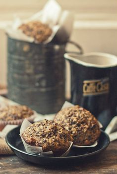 Coconut Red Quinoa Muffins with Sour Cherries & Pecans   The Gouda Life