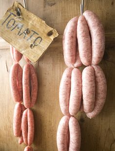 We make a lovely bunch of sausages