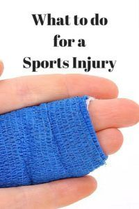 """What to do For a Sports Injury 