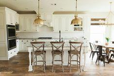 Cream and Brass Kitchen