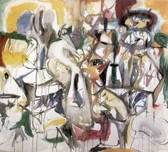 How My Mother's Embroidered Apron Unfolds in My Life, Arshile Gorky