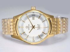 Omega-Hour-Vision-See-Thru-Case-Automatic-Full-Gold-With-White-Dial