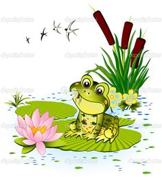 cute frog illustrations - Google Search