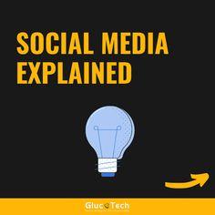 SOCIAL MEDIA WELL   EXPLAINED |GLUCOTECH Social Media Explained, Medium Well, Wellness, Photo And Video, Videos, Movie Posters, Instagram, Film Poster, Billboard
