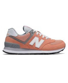 huge selection of a5c5b 7b055 Femme New Balance 574 Sunset Blanc