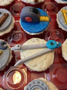 Engineer cupcakes