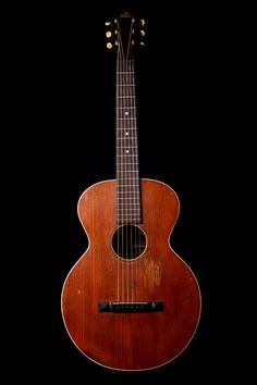 Reputed to be Robert Johnson's Gibson 1917 L-1 guitar...