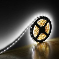 LE 12V Flexible LED Strip Lights Kit, LED Tape, Daylight White, 300 Units 3528 LEDs, Non Waterproof, Light Strips, Pack of 5m, All Accessories Included Lighting EVER www.amazon.com/...