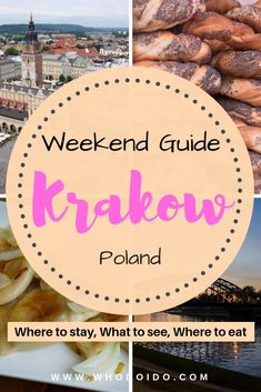 The Perfect Weekend Guide to Kraków, Poland - Top Things to See, Do & Eat ⋆ Who do I do - The Perfect Weekend Guide to Krakow, Poland – Top Things to See, Do & Eat – WhodoIdo: Off to Kr - Romantic Destinations, Europe Destinations, Europe Travel Tips, European Travel, Romantic Getaways, Travel Deals, Travel Abroad, Travel Hacks, Travel Essentials