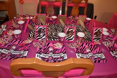 Modern Barbie Birthday Party Ideas | Photo 1 of 11 | Catch My Party
