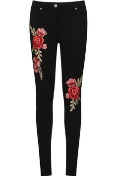 Niamh Rose Accent Skinny Jeans