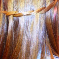 Waterfall twist braid , much simpler than regular...&& just as cute ! :)