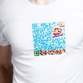 QR Hacker lets you play with QR codes, combine them with images and colors to make for some interesting and informative art.