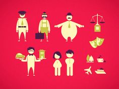 Travel pictograms