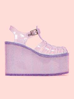 New Purple Hella Jellies with HOLO glitter!!!