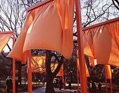 Wish I could have been in NYC to see this installation by Christo.