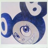 Takashi Murakami: And then, and then...Blue